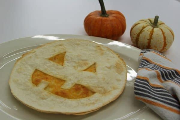 Jack-o-Lantren Tortilla