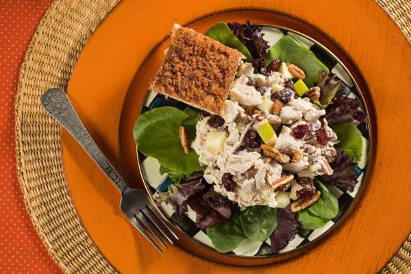 Holiday Luncheon Waldorf Chicken Salad Braum S