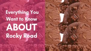 Scoops of Rock Road Ice Cream
