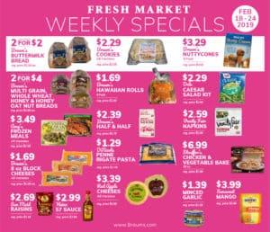 weekly specials 2-18-19