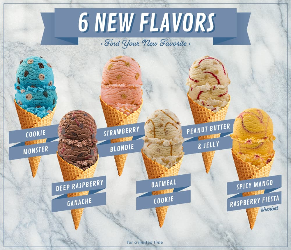 Braum's Debuts 6 New Flavors, 4 New Sundaes | Braum's